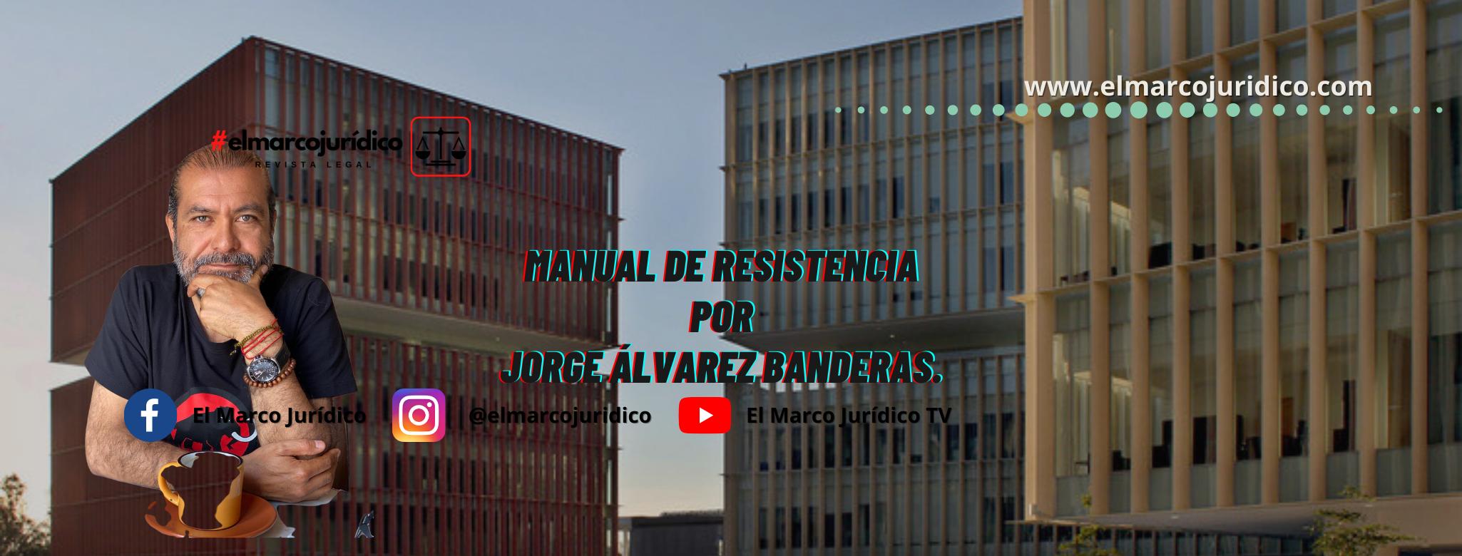 MANUAL DE RESISTENCIA   Jorge Álvarez Banderas.