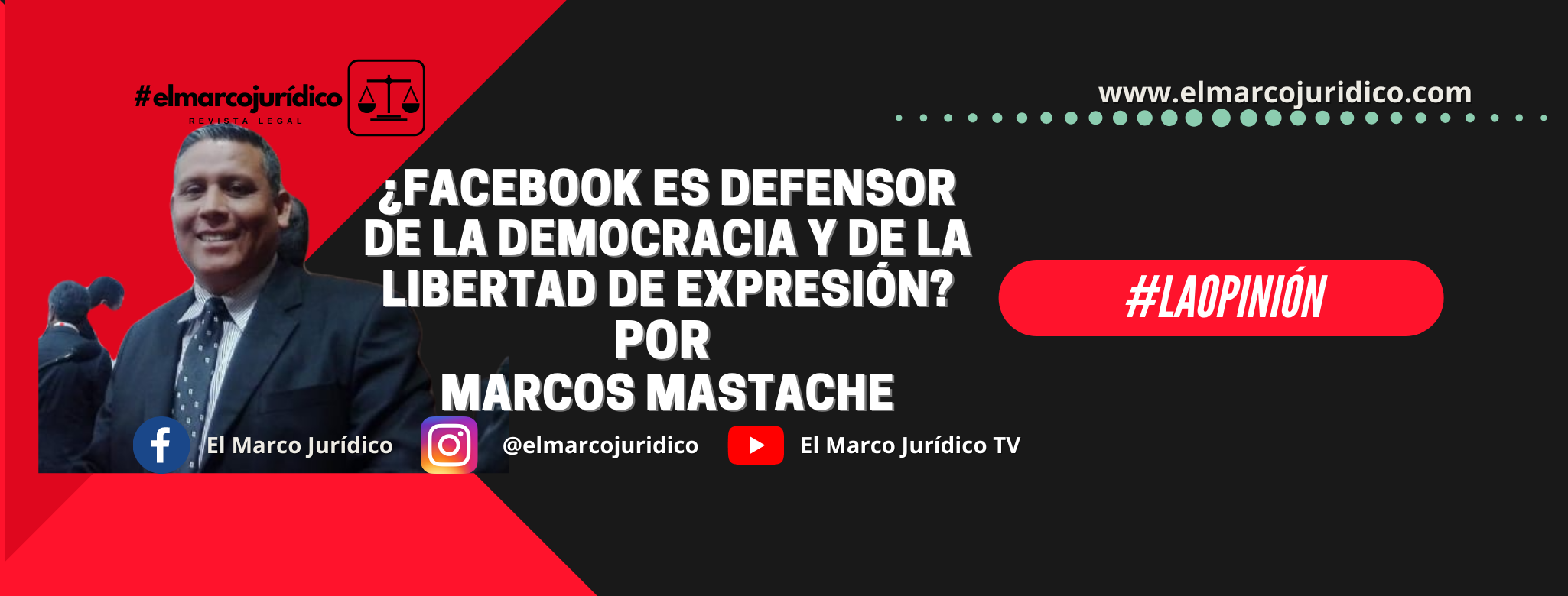 ¿Facebook es defensor de la democracia y de la libertad de expresión?